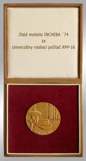 Štátna cena udelená vedeckým pracovníkom ÚTK SAV za vyriešenie počítača RPP-16