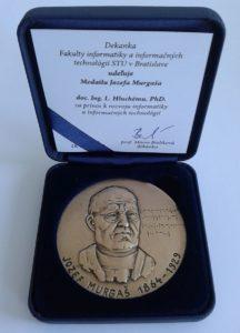 Medaila Jozefa Murgaša Ladislavovi Hluchemu